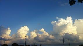 nuvens da beleza Fotos de Stock Royalty Free
