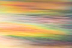 Nuvens da cor do céu Foto de Stock Royalty Free