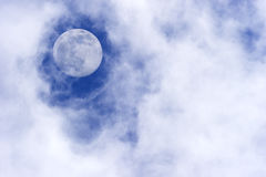 Nuvens da lua Imagens de Stock