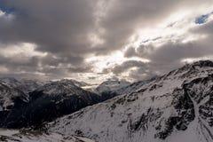 Nuvens da montanha Imagem de Stock Royalty Free