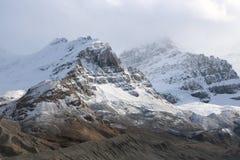 Nuvens da montanha de Athabasca Fotografia de Stock