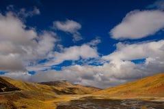 Nuvens da neve de China Tibet Fotografia de Stock