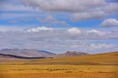 Nuvens da neve de China Tibet Imagem de Stock Royalty Free