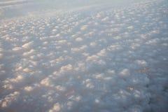 Nuvens da pipoca Imagens de Stock Royalty Free