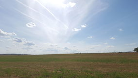 Nuvens da seta Fotos de Stock