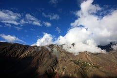 Nuvens de Altiplano Foto de Stock Royalty Free