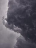 Nuvens de ameaça Imagens de Stock Royalty Free