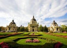 Nuvens de Budapest fotografia de stock royalty free