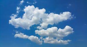 Nuvens de cúmulo Imagem de Stock Royalty Free