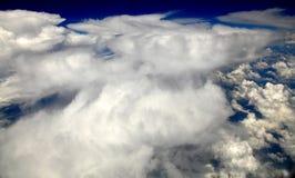 Nuvens de cúmulo Foto de Stock Royalty Free