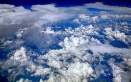 Nuvens de cúmulo Imagens de Stock