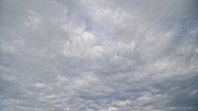 Nuvens de cúmulo-nimbo video estoque