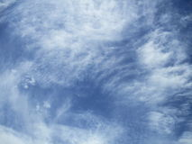 Nuvens de Chemcal Fotografia de Stock