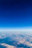 Nuvens de cima de 2 Fotografia de Stock