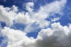 Nuvens de Cumulus Fotografia de Stock