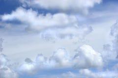 Nuvens de Cumulus Imagem de Stock Royalty Free