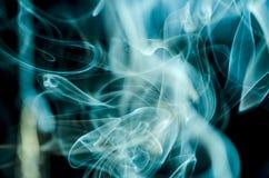 Nuvens de fumo cênicos Imagens de Stock Royalty Free