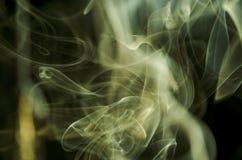 Nuvens de fumo cênicos Fotos de Stock Royalty Free