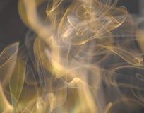 Nuvens de fumo cênicos Imagem de Stock Royalty Free
