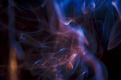 Nuvens de fumo cênicos Imagens de Stock