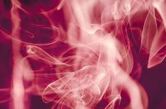 Nuvens de fumo cênicos Foto de Stock Royalty Free