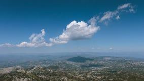 Nuvens de Lovcen Foto de Stock