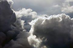 Nuvens de Majectic Foto de Stock