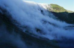 Nuvens de queda Imagem de Stock
