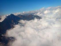 Nuvens de Shangri-La imagens de stock