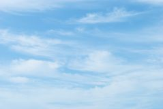 Nuvens de Spindrift Imagens de Stock Royalty Free