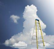 Nuvens de suspensão fotografia de stock