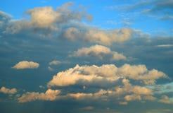 Nuvens de tempestade Imagens de Stock Royalty Free