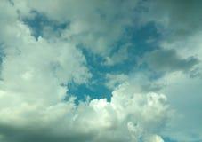 Nuvens de tempestade imagem de stock royalty free