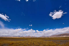 Nuvens de tempestade da neve de China Tibet Foto de Stock Royalty Free