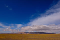 Nuvens de tempestade da neve de China Tibet Foto de Stock