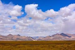 Nuvens de tempestade da neve de China Tibet Imagem de Stock Royalty Free