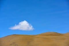 Nuvens de tempestade da neve de China Tibet Fotografia de Stock Royalty Free