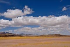 Nuvens de tempestade da neve de China Tibet Imagens de Stock Royalty Free