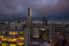Nuvens de tempestade de Beirute Foto de Stock Royalty Free