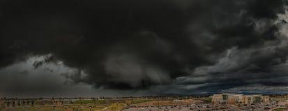 Nuvens de tempestade de Califórnia Fotos de Stock
