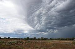 Nuvens de tempestade no interior Novo Gales do Sul fotografia de stock royalty free