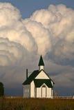 Nuvens de Thunderhead Foto de Stock