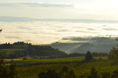 Nuvens de Toscânia Fotografia de Stock Royalty Free