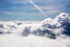 Nuvens de trovão Fotografia de Stock Royalty Free