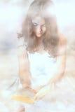 Nuvens do anjo Fotos de Stock Royalty Free