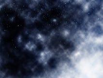 Nuvens do espaço Imagens de Stock Royalty Free