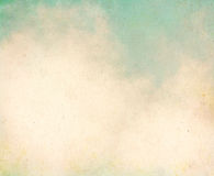 Nuvens do Grunge do vintage Fotografia de Stock Royalty Free