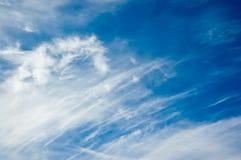 Nuvens do inverno imagens de stock royalty free