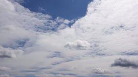 Nuvens do lapso de Grey White Sky Time filme