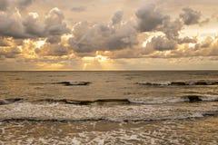 Nuvens do outono Fotografia de Stock Royalty Free